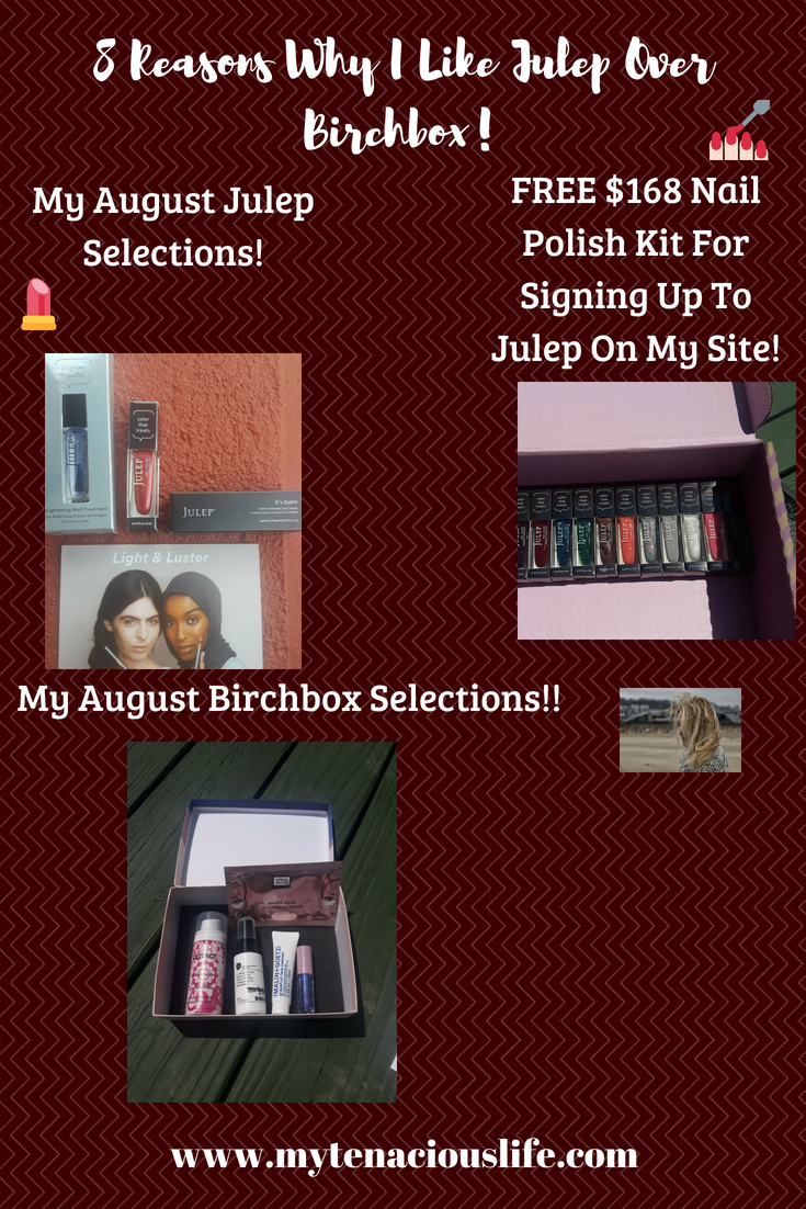birchbox julep honest product reveal