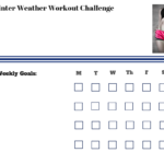 Winter Weather Workout Challenge